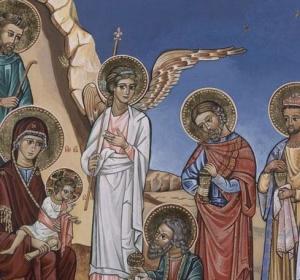 ,,Podnieś rękę Boże Dziecię, Błogosław ojczyznę miłą, W dobrych radach, w dobrym bycie Wspieraj jej siłę swą siłą